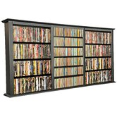VHZ Entertainment Triple Wall Mounted Storage Rack