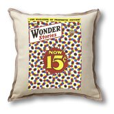 Classic Sci-fi Illustration Wonder Stories Pillow Cover - Now 15 Cents