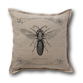 Retro-Futuristic Artifacts Armored Wasp Pillow Cover