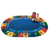 Printed Blocks of Fun Kids Rug