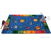 Printed Milky Play Literacy Kids Rug