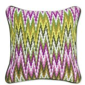Bargello Sandpiper Drive Pillow