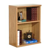 "Heirloom 32"" H Heavy Duty Bookcase in Oak Veneer"