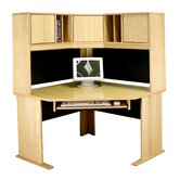 Modular 36&quot; H x 48&quot; W Panel Corner Desk Hutch