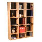 "Modular Real 65.5"" H Organizer in Oak Wood Veneer"