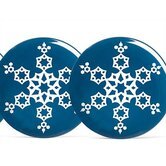 Colorwave Blue Holiday Accent Plate