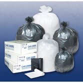 4 Gallon High Density Can Liner in Clear