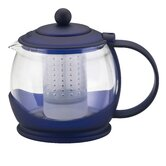 Prosperity Teapot with BPA Free Shut Off Infuser in Blue