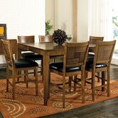 Luxor 7 Piece Counter Height Dining Set