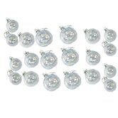 Iridescent Glass Ball 20 Piece Ornament Set