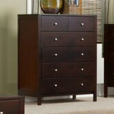 Solana 6 Drawer Tall Boy Chest