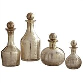 Blythe Glass Decanters (Set of 4)