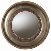 Kathleen Light Wood / Silver Foil Mirror