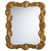 Baroque Leaf Plain Mirror