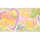 Whimsical Children's Vol. 1 Heart Border in Lime