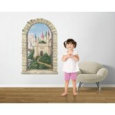 Castle Window Main Gate Wall Decal