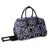Damask 20&quot; Carry All Duffel
