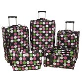 Multi Dots 360 Quattro 5 Piece Luggage Set