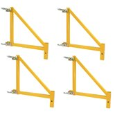 4 Piece Outrigger Set for GSSI