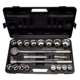 21 Piece SAE Direct Socket Set
