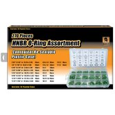 Black Bull 270 Piece HNBR O-Ring Assortment Set