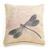 Dragonfly Etching Pillow