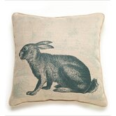 Rabbit Etching Pillow