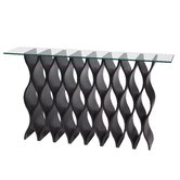 Waffle Console Table