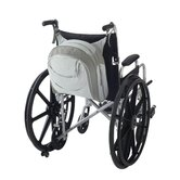 Zippidy Wheelchair Seat Back Organizer in Pearl Grey and Pewter