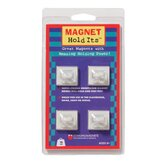 Four Ceiling Hook Magnets