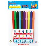Marker Set Mr Sketch 10 Color Set