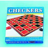 Checkers Includes Checkers & Board