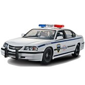 1:25 '05 Chevy Impala Police Car Plastic Model Kit
