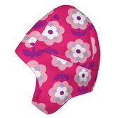 Winter Wear Fleece Earwarmer Cap in Pink Floral