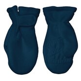Winter Wear Fleece Mitten in Navy
