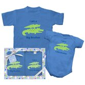 Brother and Sister Alligator  Gift Set