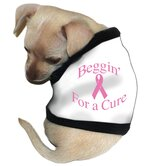 People Walker Dog Tank in Pink with Black Trim