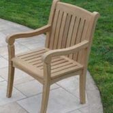 Teakwood Compton Dining Arm Chair