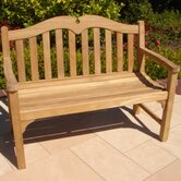 Teakwood Regent Wood Garden Bench