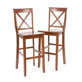 X-Back 30&quot; Barstool in Classic Cherry