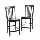 School House 24&quot; Barstool in Black