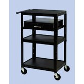 26&quot; - 42&quot; Adjustable Equipment Cart