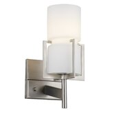 Weston Wall Sconce in Satin Nickel