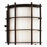 Hollywood Hills Outdoor Wall Fixture in Deep Bronze
