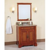 "32"" Single Bathroom Vanity Set in Light Brown"