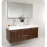 Opulento Modern Double Bathroom Vanity w/ Medicine Cabinet