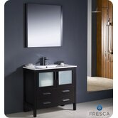"Torino 36"" Modern Bathroom Vanity with Undermount Sink"
