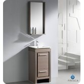 Allier Small Modern Bathroom Vanity with Mirror