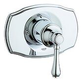 Geneva Pressure Balance Valve Trim with Lever Handle