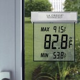 Outdoor Window Thermometer - Clear